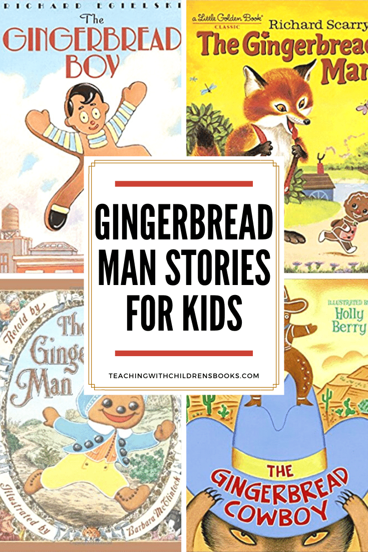 Discover 21 different version of the gingerbread man! Each one is sure to be a hit this Christmas season. They make great holiday read-alouds, too!