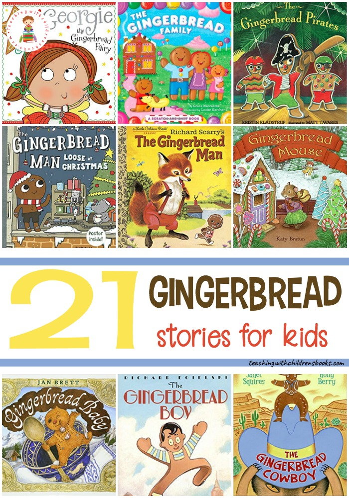 Discover 21 engaging gingerbread man stories! Each one is sure to be a hit this Christmas season. They make great holiday read alouds, too!