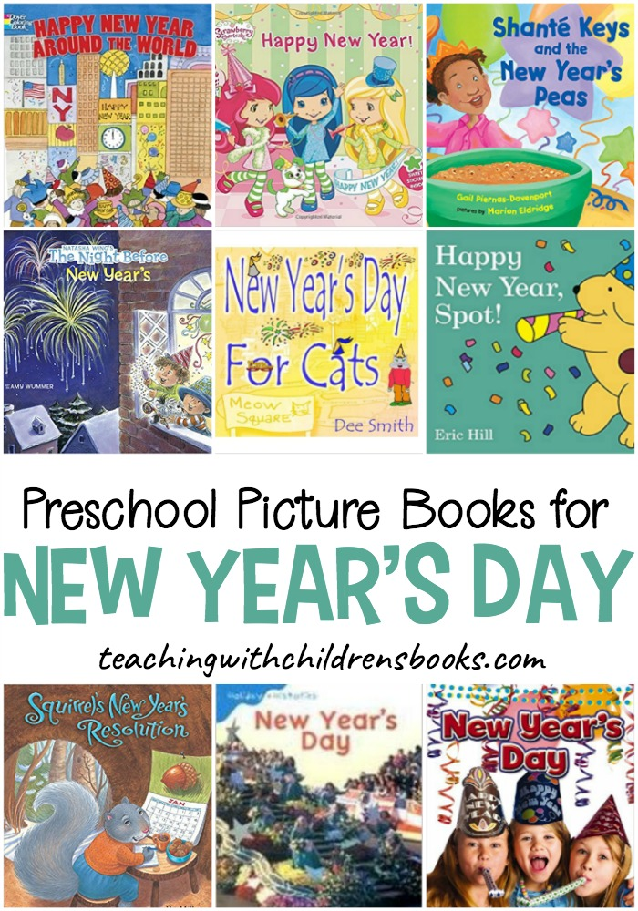 Kick off a brand new year with this wonderful collection of preschool New Years books. These picture books will help little ones learn more about the holiday.