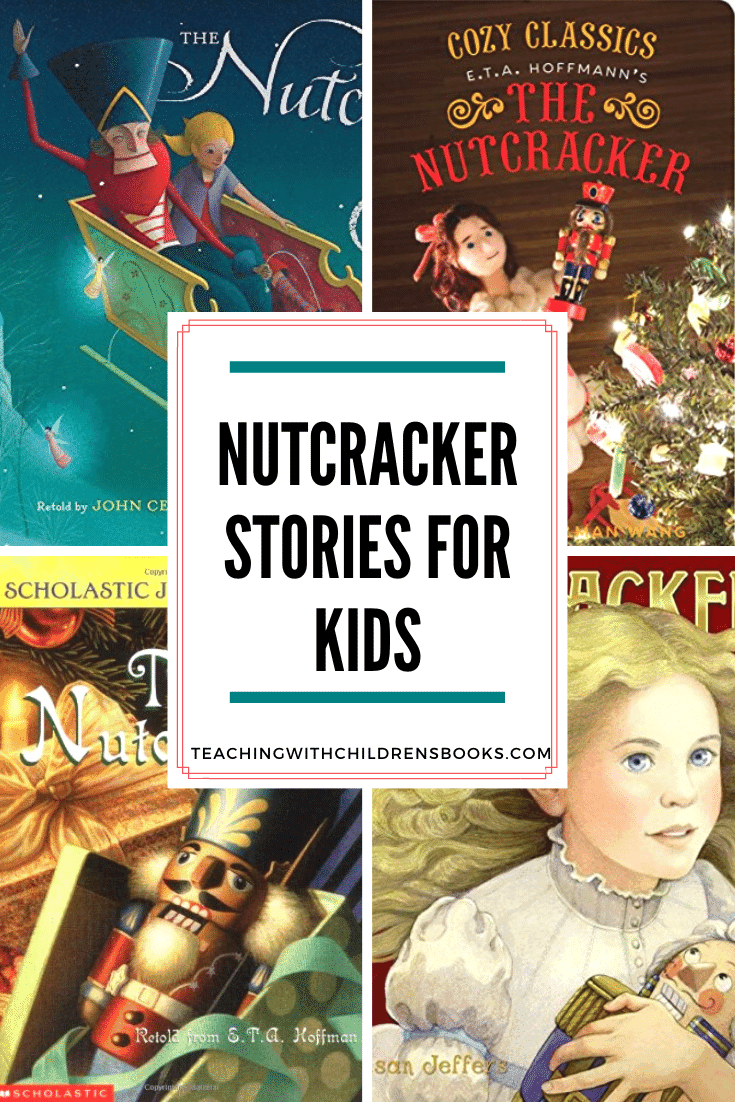 These Nutcracker books for kids are perfect for the holiday season. This collection contains a variety of versions making them great for classroom discussions.