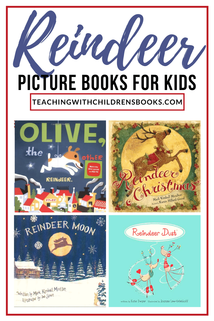 Santa and his eight tiny reindeer will start making their rounds soon! Today, however, you can read one or more of these reindeer books for kids!