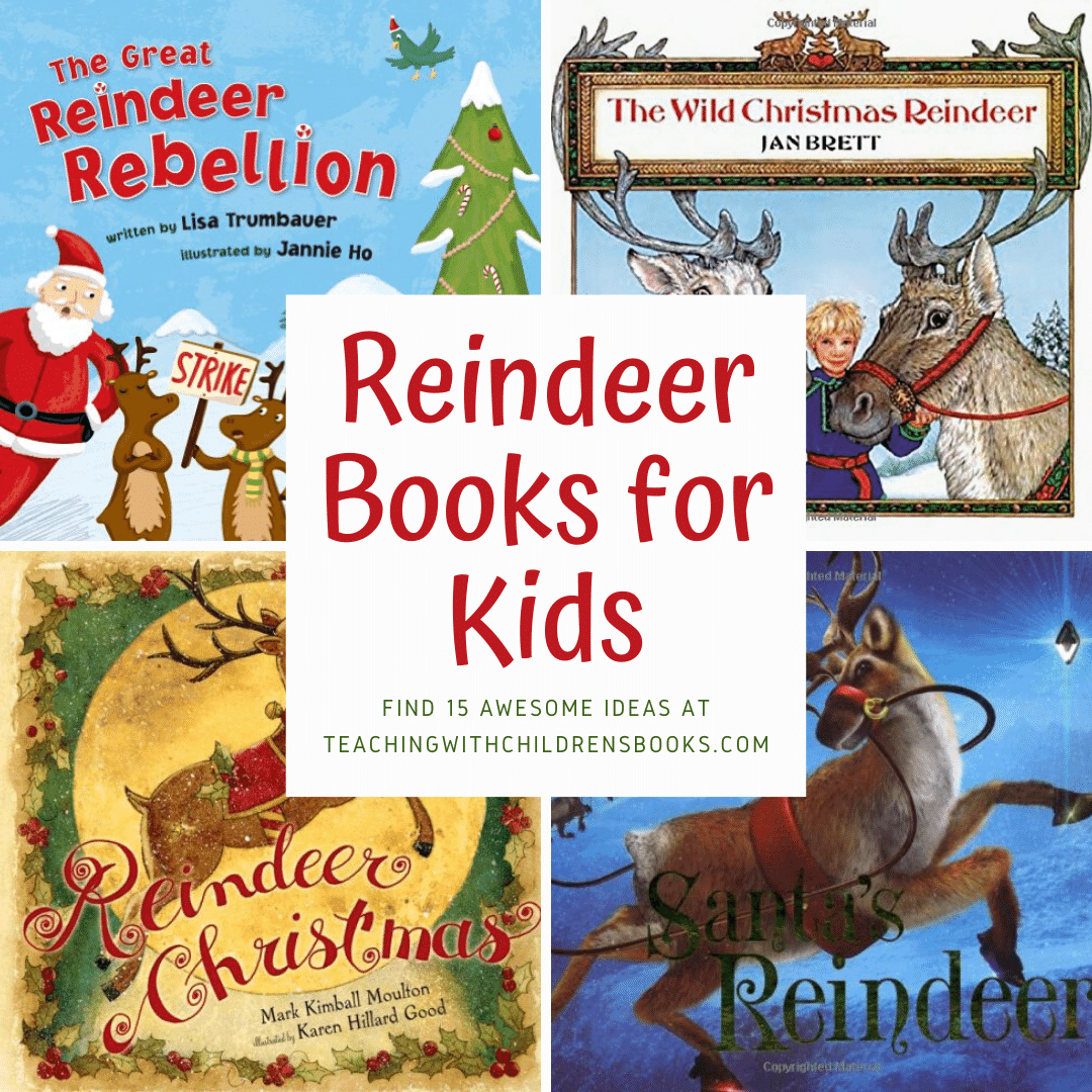 18 Of Our Favorite Christmas Reindeer Books For Kids