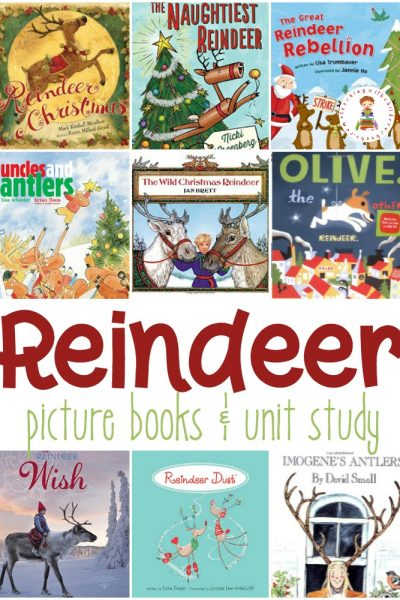 Santa and his eight tiny reindeer will start making their rounds soon! Today, however, you can read these reindeer picture books to your favorite kids!