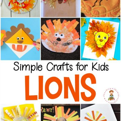 Easy Lion Crafts for Kids
