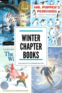 Cozy up with your kids and one of these great winter chapter books! They're perfect for independent readers and for reading aloud!
