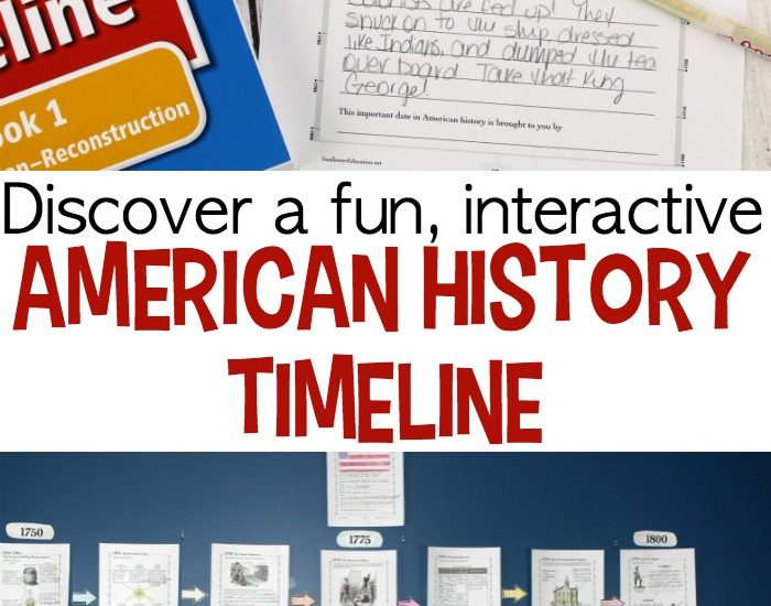 Engage your students in your upcoming history lessons with fun and engaging American History timeline activities! This interactive timeline is exactly what you need!