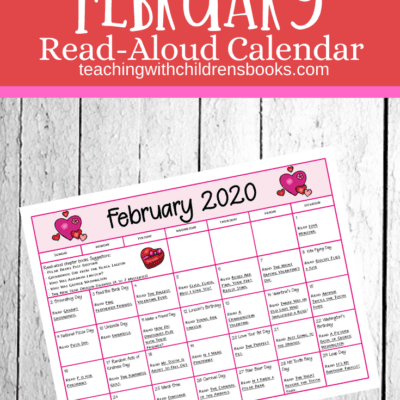 February Read Aloud Picture Books Calendar