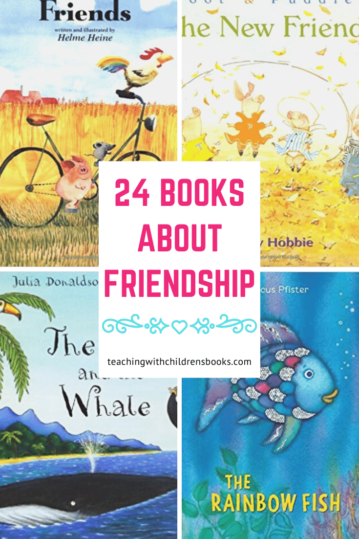 Read these 24 picture books about friendship. These books on friendship for kids will remind your child of the importance of being a good friend.
