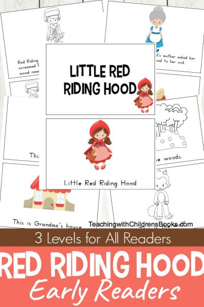 Printable Little Red Riding Hood Mini Book Set