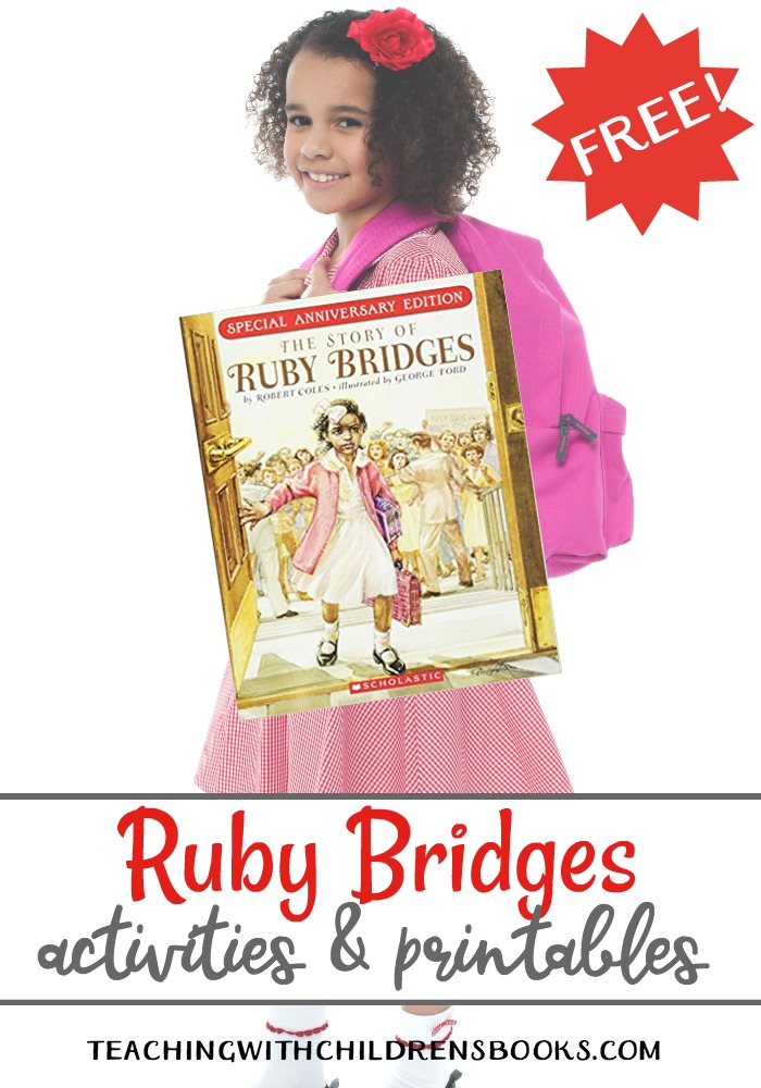 Ruby Bridges Activities and Printables for Black History Month