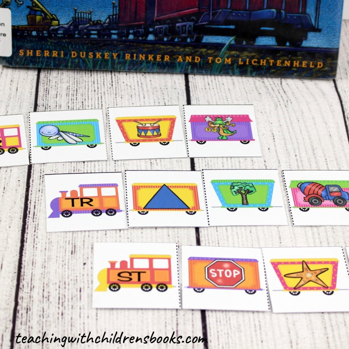 I love finding great books to use in lessons across the curriculum. These Steam Train, Dream Train consonant blend activities are perfect for your language arts centers!