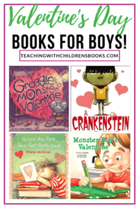 No mushy-gushy books on this list. Your guys will love these Valentines Day books for boys. Monsters, zombies, and stinky feet are featured in this list!