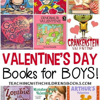 12 of the Best Valentines Day Books for Boys