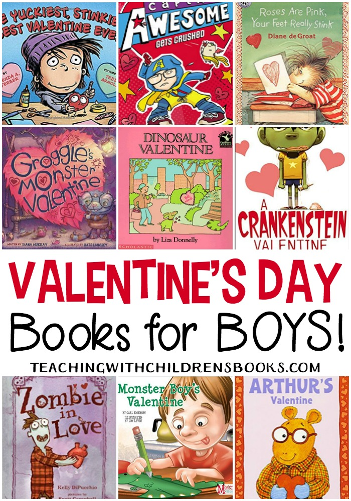 there are no mushy gushy books on this list your guys will love these - Valentines Day Book