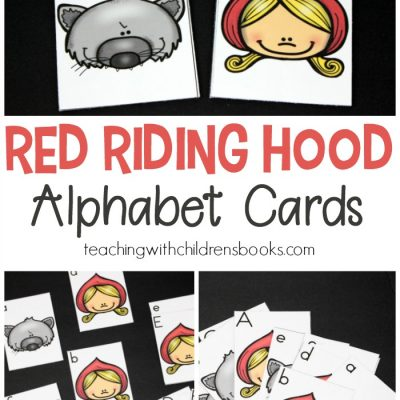 Little Red Riding Hood Printable Alphabet Cards