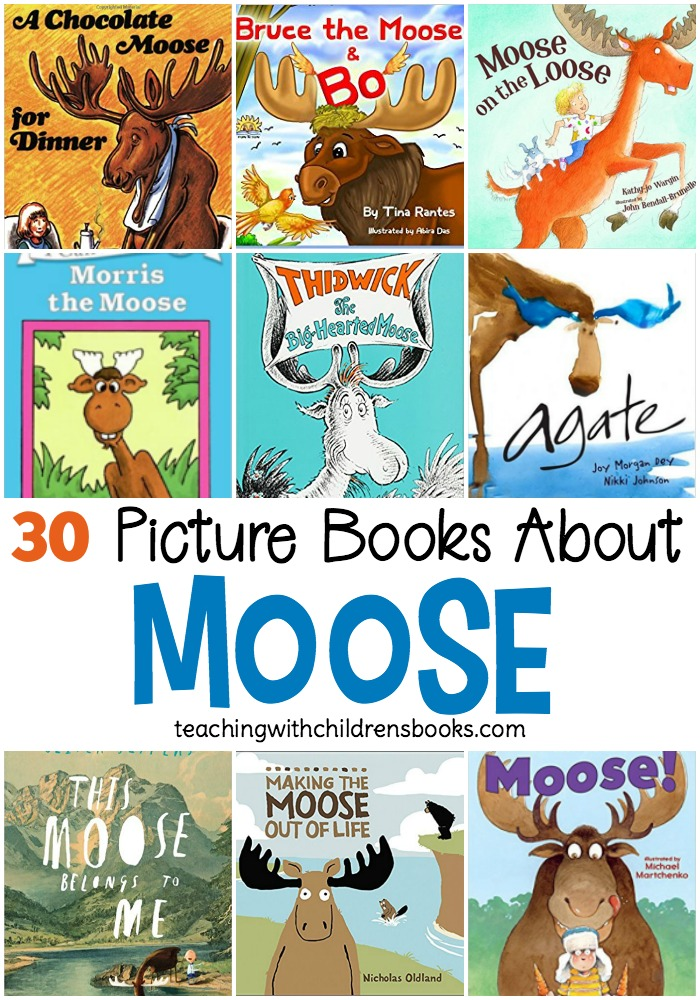 Your animal-loving kids are going to love this collection of picture books about moose! Whether you're studying animals, forest, or moose specifically, there's something for everyone here.