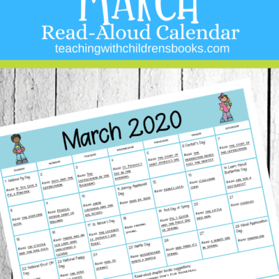 March Read Aloud Calendar
