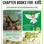 If your kids love reading holiday-themed books, you've got to check out this list of St Patricks Day chapter books. They're great for independent reading and read-alouds!
