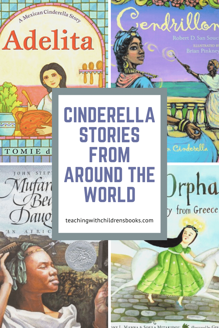 Reading several versions of the same story makes for great discussions! Compare and contrast theseCinderella stories from around the world.