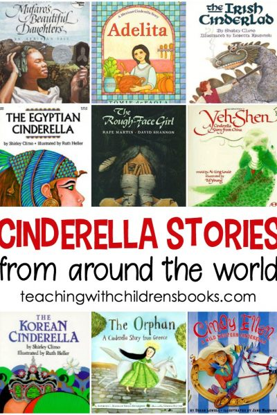 It's fun for kids to read several versions of the same story to compare and contrast. It makes for great discussions! Give it a try with these Cinderella stories from around the world.