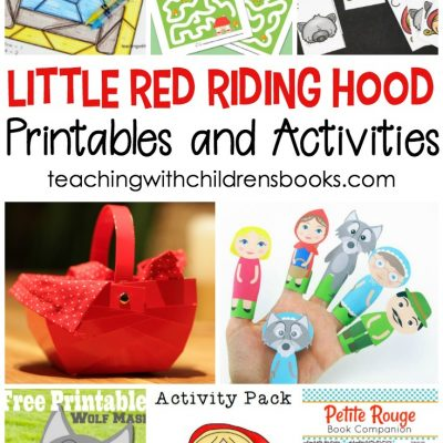Little Red Riding Hood Printable Activities for Kids