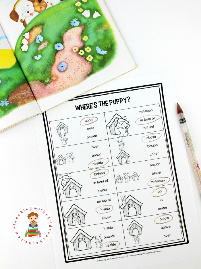 Discover what happens when five little puppies dig a hole under the fence and explore the wide, wide world. Then, let your students complete this free Poky Little Puppy unit study!