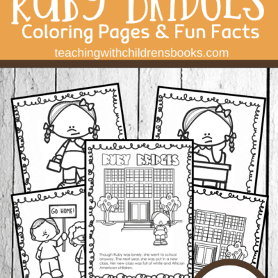 Ruby Bridges Coloring Page Packet