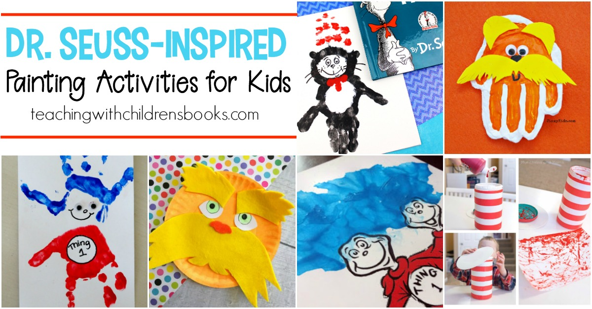 Bring your favorite Dr. Seuss stories to life with a craft! These Dr Seuss painting activities are perfect for kids of all ages. Pick your favorite and let your kids get crafty!