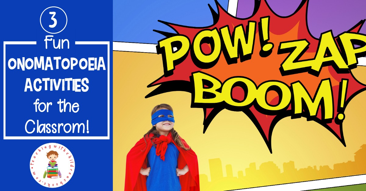 Onomatopoeia is a type of figurative language that adds some pop and pizzaz to student writing. There are so many fun onomatopoeia activities that will engage your students or your own children.