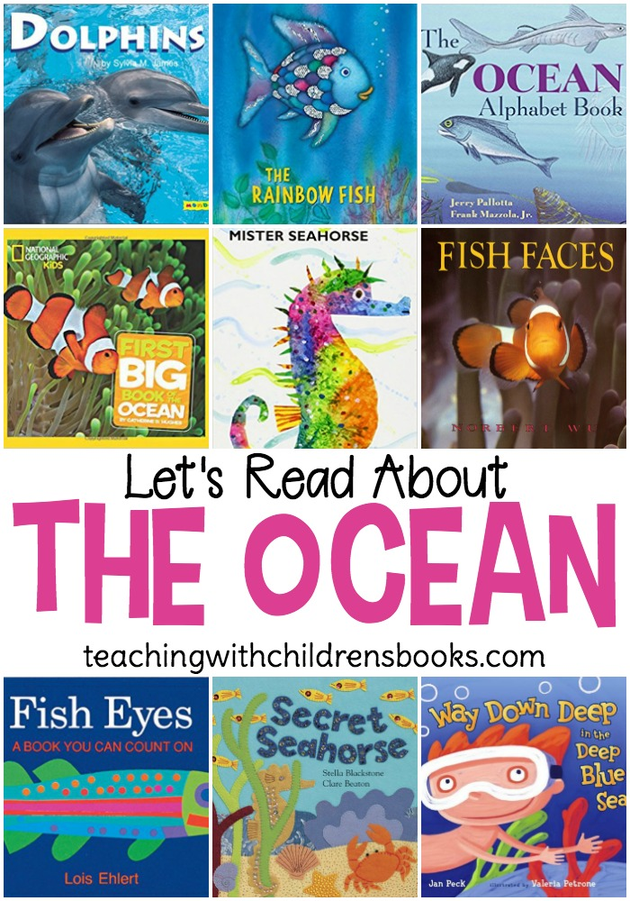 Summer is just around the corner, and these ocean books and resources are perfect for your summer unit studies. Fill your book basket and pique your child's interest in all things ocean.