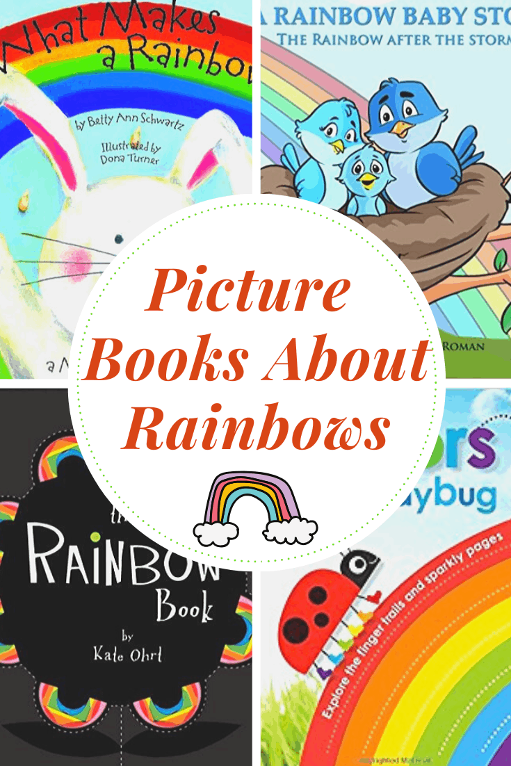 This is the perfect time of year to read rainbow books for toddlers and preschoolers. From board books to easy readers, these books are perfect for kids!