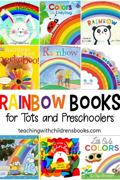 As spring makes way for summer, this is the perfect time of year to read your favorite rainbow books for toddlers and preschoolers. From board books to easy readers, these books are perfect for kids!