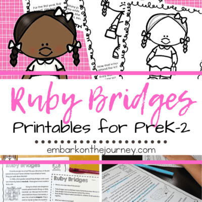 Ruby Bridges Printables for Elementary Students