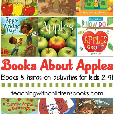 Children's Books About Apples and Hands-On Activities