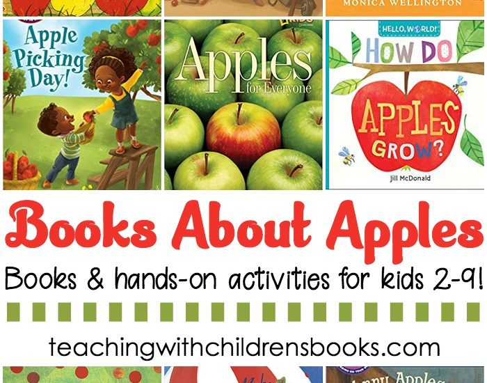 Fill your shelves with these children's books about apples, and then try one or more of the hands-on apple activities. They're perfect for fall!