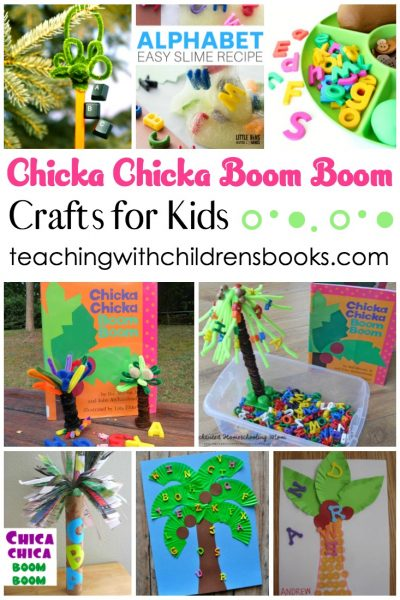 11 Chicka Chicka Boom Boom Crafts For Kindergarten