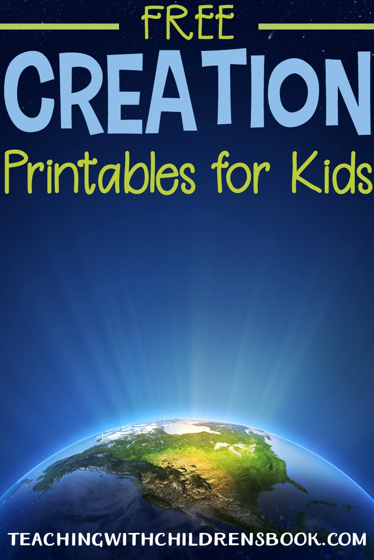 Introduce your kids to the Creation story with these Days of Creation printables. This collection of printables is perfect for preschool and elementary aged students.