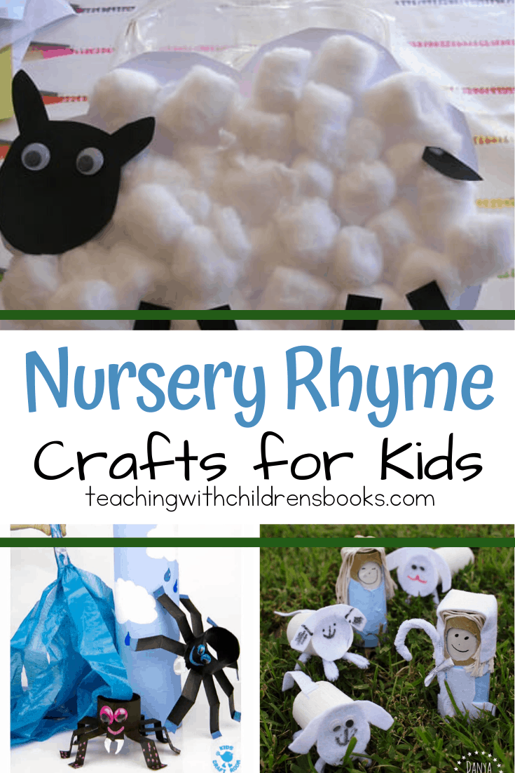 Kids will love bringing their favorite Mother Goose rhymes to life with these easy nursery rhyme crafts! There are fifteen amazing ideas to choose from!