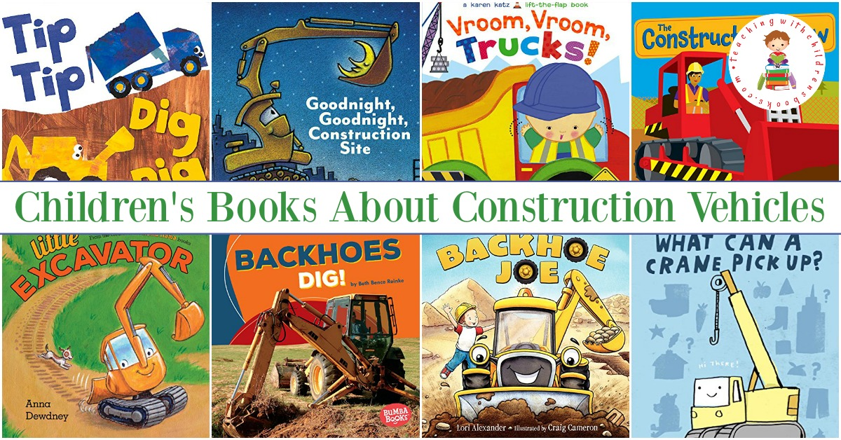Have you got a little one that loves big trucks? If so, don't miss this amazing collection of children's books about construction vehicles!