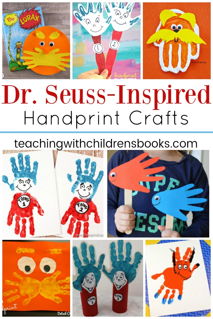 Preschoolers love Dr. Seuss. And, they are going to love these Dr Seuss handprint crafts! These cute crafts are sure to become keepsakes.