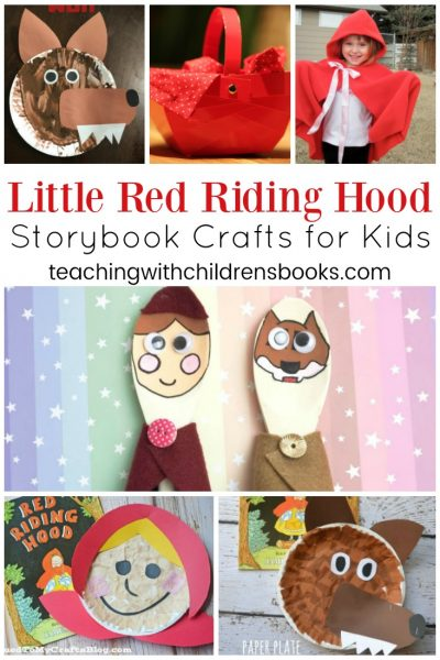 Little Red Riding Hood Crafts