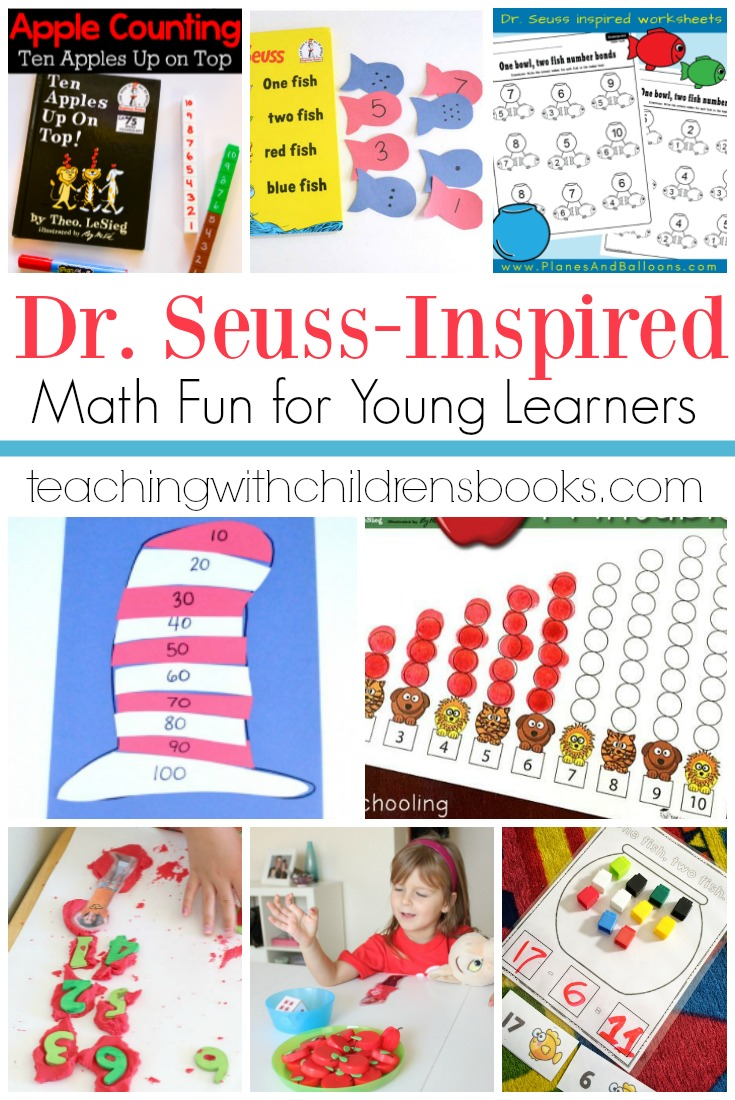 These Dr Seuss math activities are perfect for kids of all ages! Choose one or more to go with your next Dr Seuss story time!