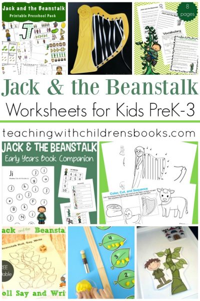 Jack and the Beanstalk Worksheets
