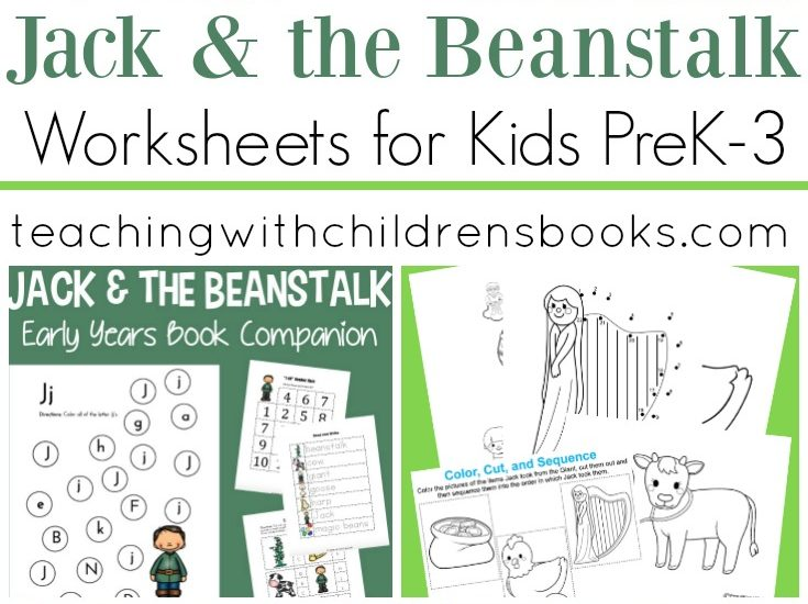 This collection of Jack and the Beanstalk worksheets will help teachers bring the story to life. This fairy tale is perfect for spring and summer lessons!