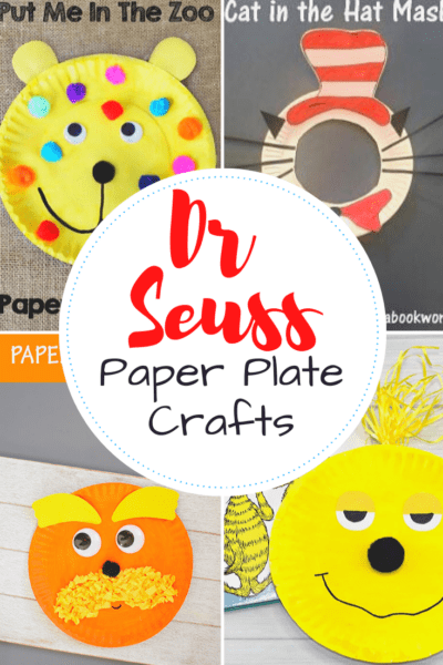 Your young readers are going to love these Dr Seuss paper plate craft ideas! Pick one to go along with their favorite story, and start crafting!
