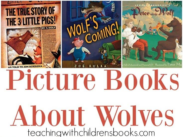 Be sure to add these picture books about wolves to your upcoming animal studies. They also go great with a forest habitat study.