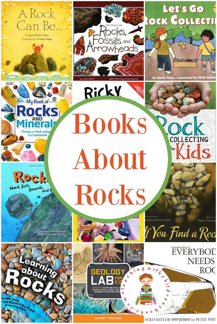 Picture books about rocks are perfect for your study of the earth. Your young construction site fans will love them, as well!