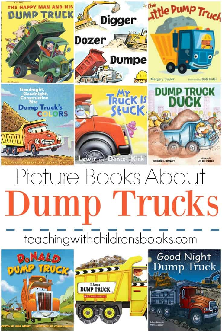 Your little truck fans will love these books about dump trucks. They'll really dig these books about big dump trucks and construction.