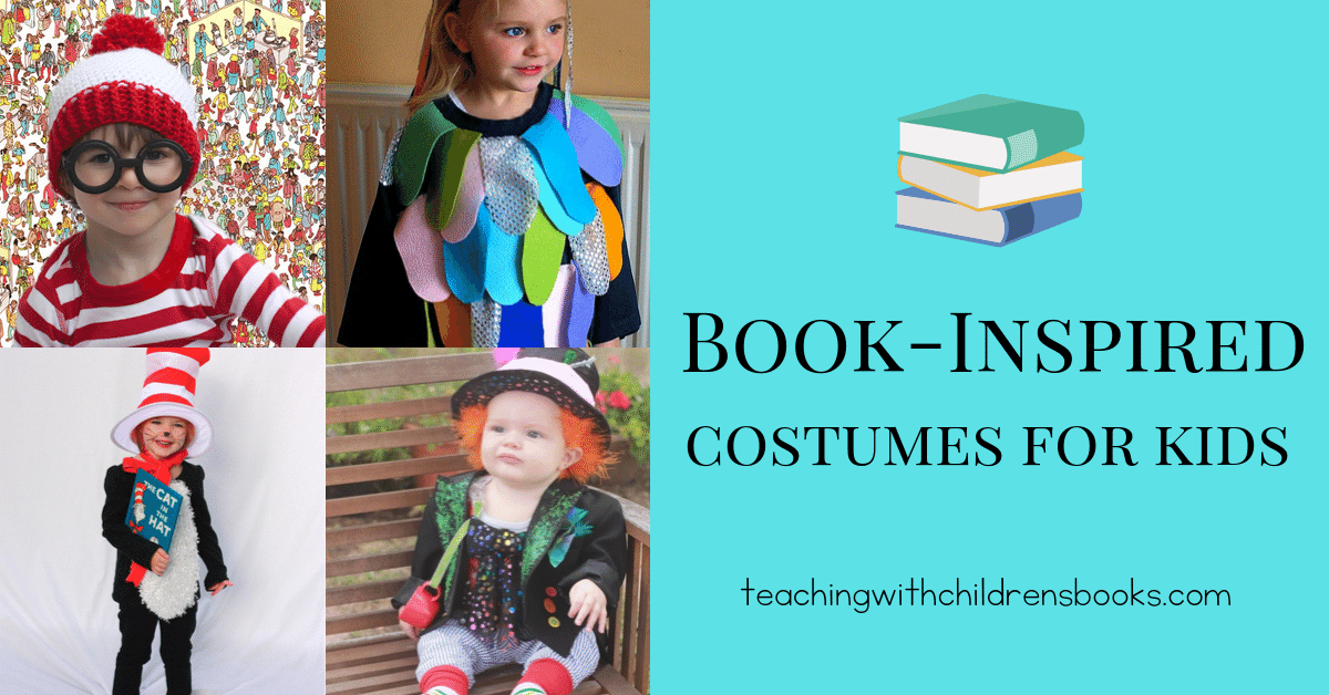 Whether you're looking for a costume for Book Week, Halloween, or just any fun dress-up day, you'll love these book-inspired costumes for kids!