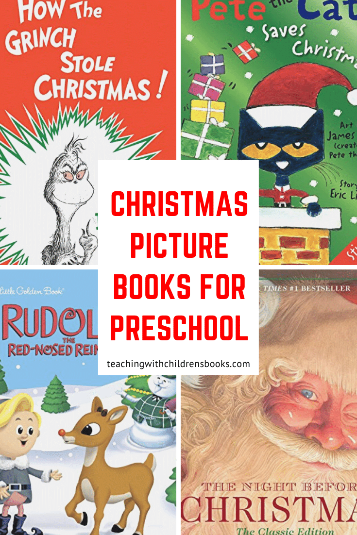 Fill your holiday book basket with these precious Christmas books for preschoolers. You'll find a mix of classics and new favorites kids will love.